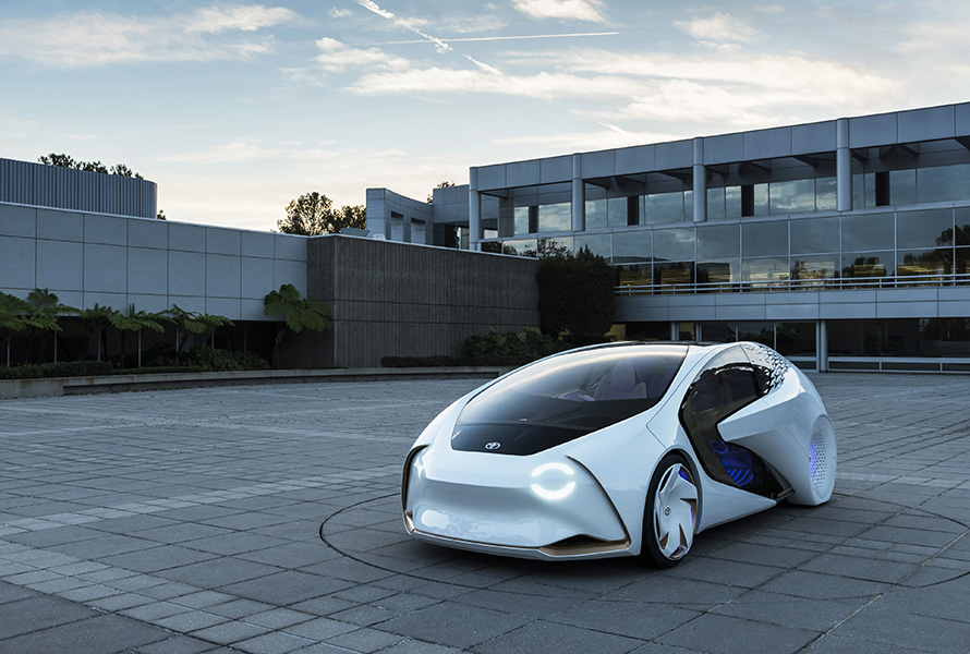 Toyota Concept-i – the friendly future of mobility