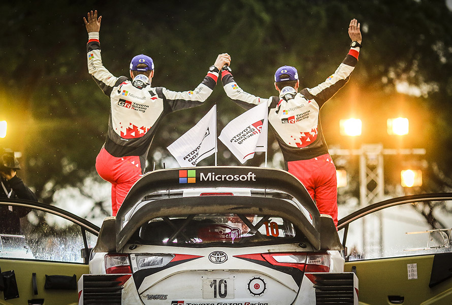 Second position for Toyota on Monte-Carlo Rally