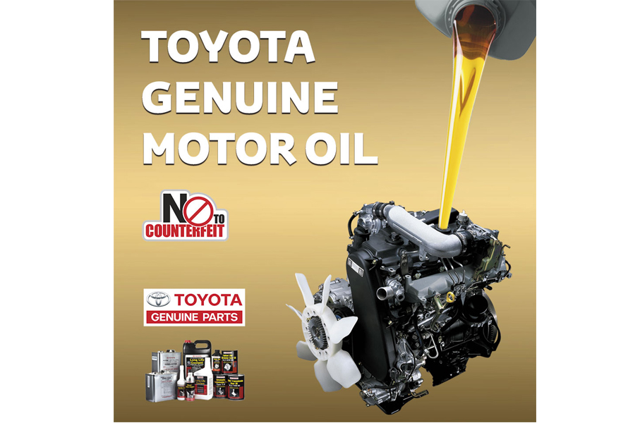 Toyota Genuine Motor Oil