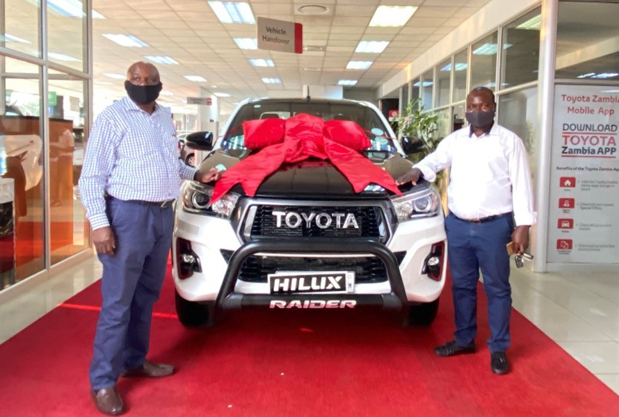 Elated Customer – Hilux GR Sport Limited Edition