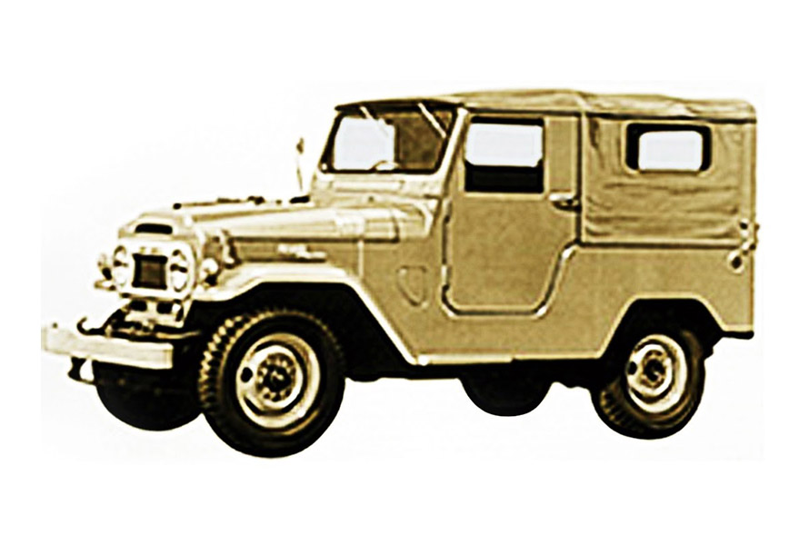 The history of the Land Cruiser
